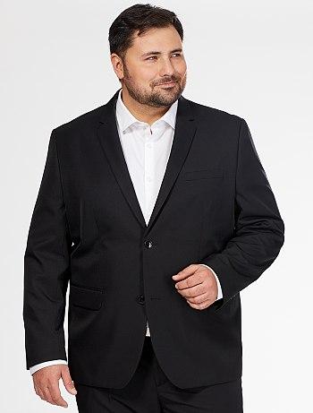 comfort-fit-plain-suit-jacket-black-men-plus-sizes-vf198 2 fr1