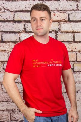 Футболка 2080 красный ANTONY MORELLO
