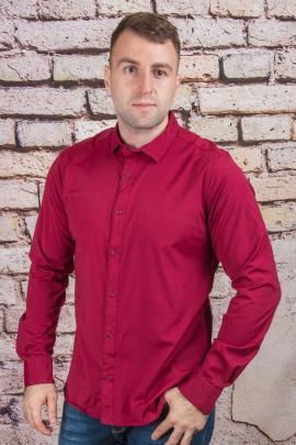 Рубашка 57385 бордовый ANG